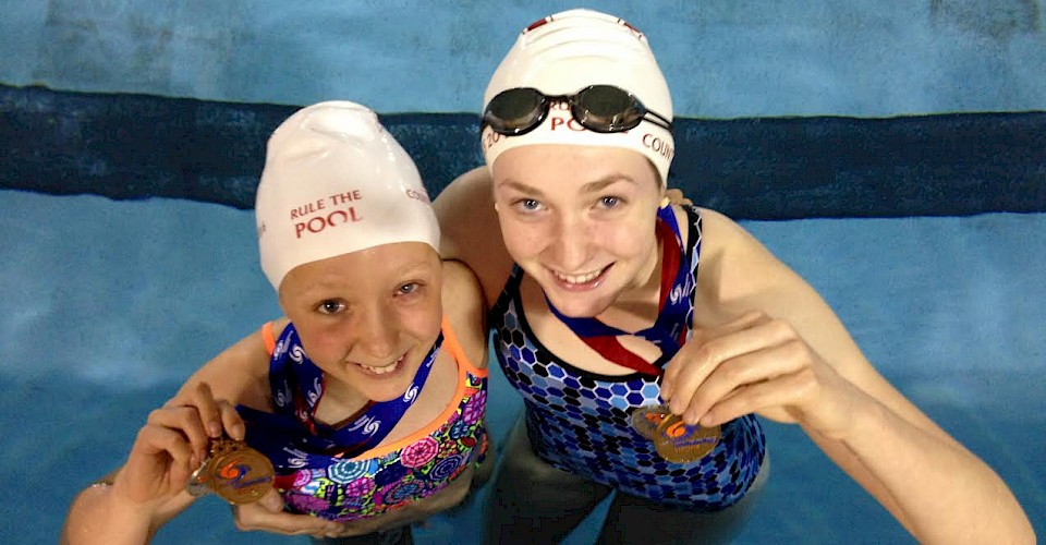 Swimmers grab gold